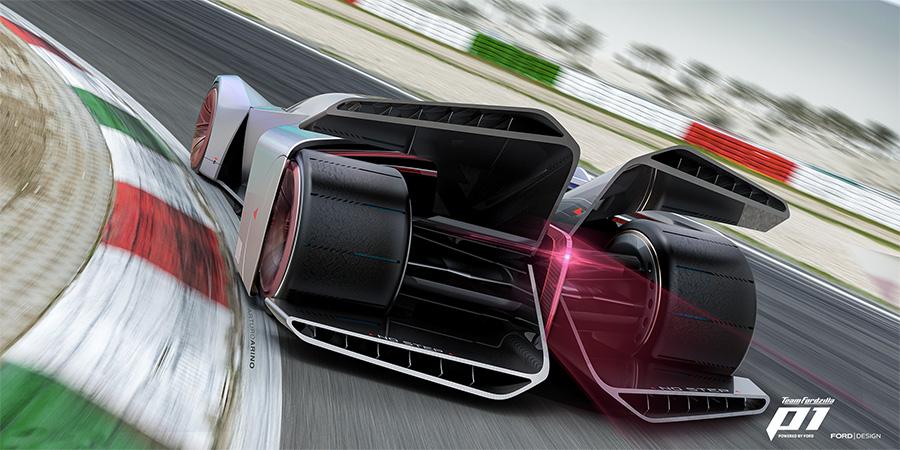 Team Fordzilla P1 Concept Virtual Race Car