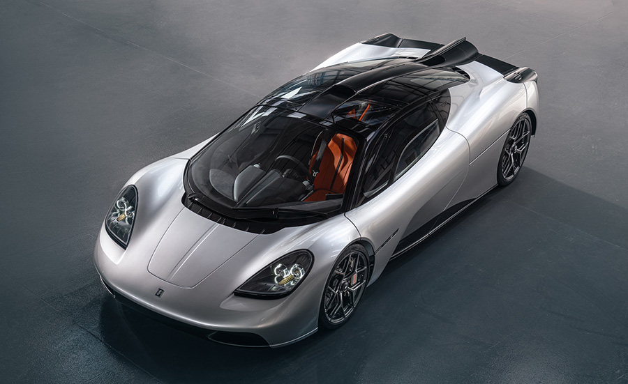 Gordon Murray T.50 Hypercar Unveiled