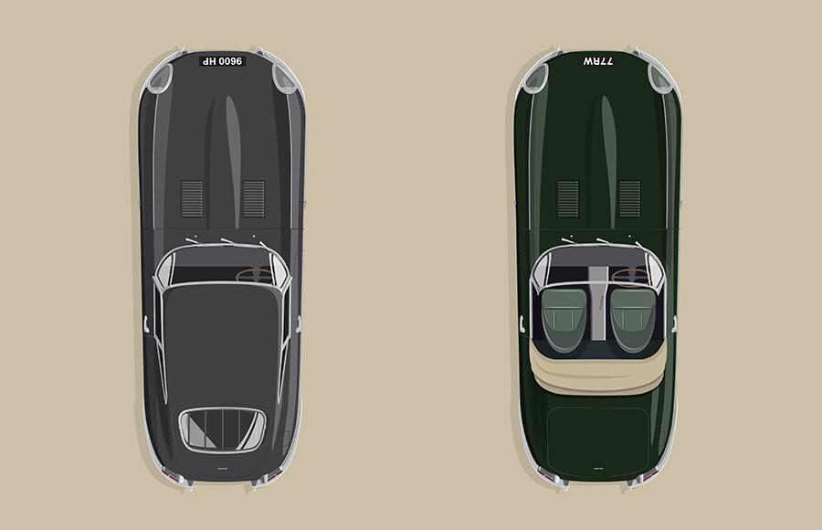 Jaguar E-Type60 Anniversary Edition
