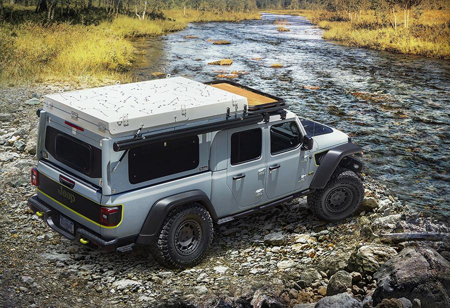 Jeep Gladiator Overlander Farout Concept