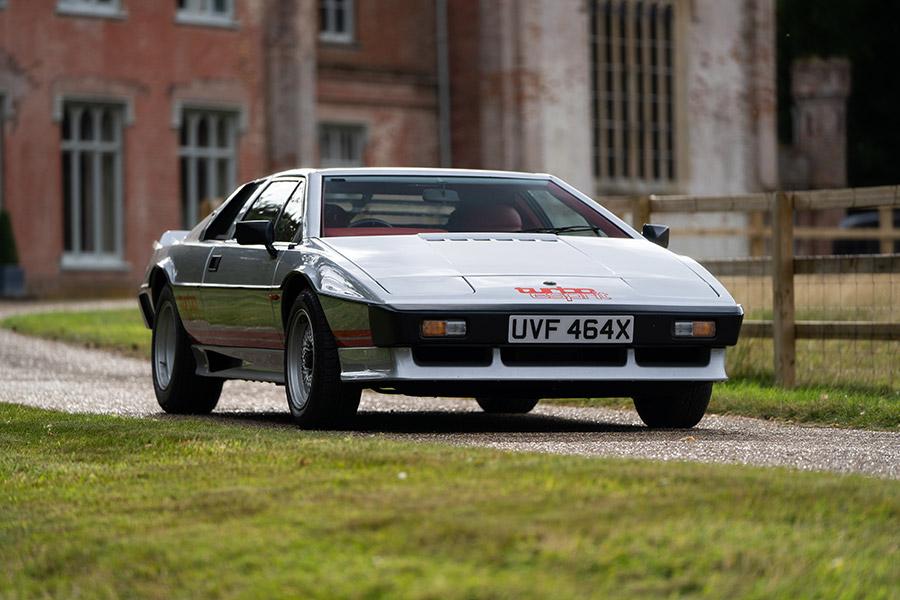 Lotus Certificate of Provenance Colin Chapman's Turbo Esprit