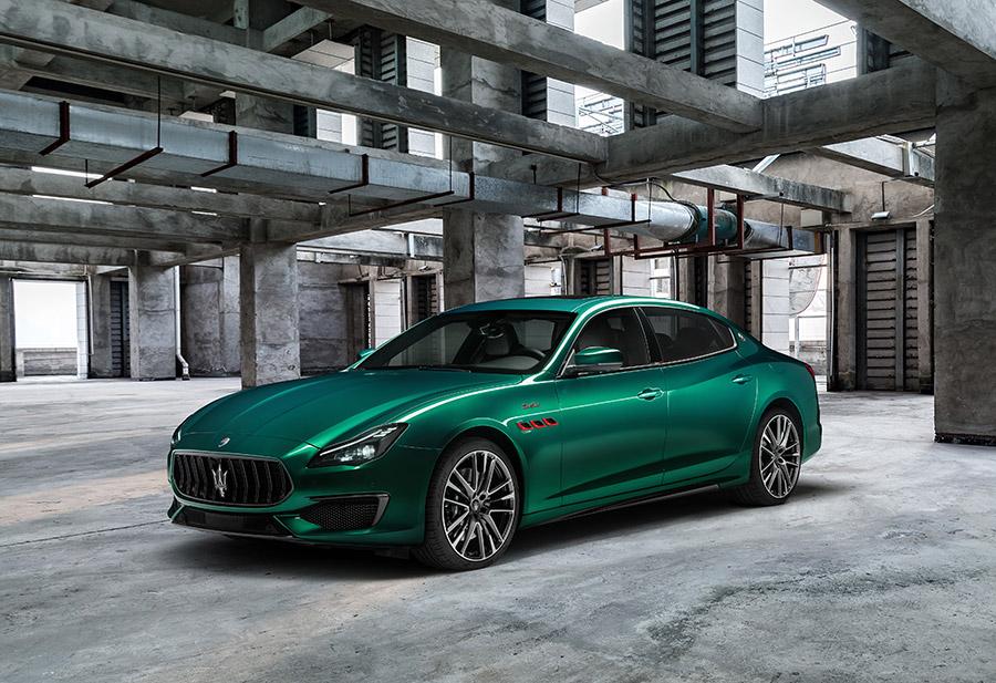 Maserati Levante Ghibli and Quattroporte Trofeo
