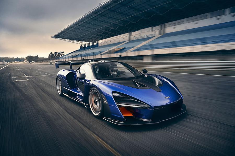 McLaren Senna breaks US Track Records