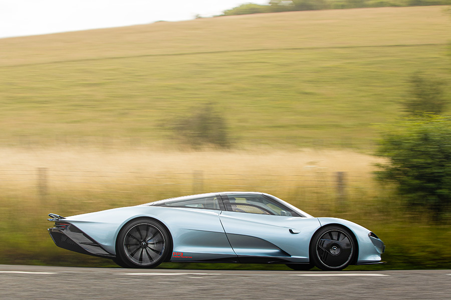 McLaren Speedtail 7500th US Car