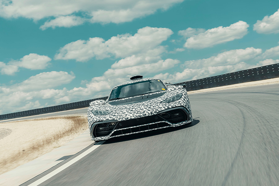 Mercedes-AMG Project ONE Testing Hybrid Engine