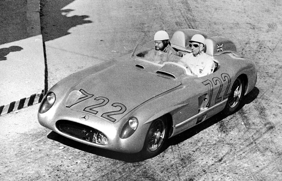 Virtual Concours Sir Stirling Moss Mille Miglia Mercedes Best in Show