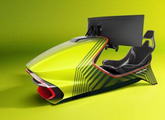 Aston Martin AMR-C01 Curv racing simulator