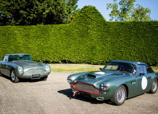 Aston Martin DB4 Pair Bell Sport & Classic