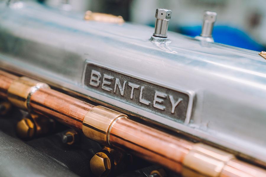 Bentley Blower Engine Testing