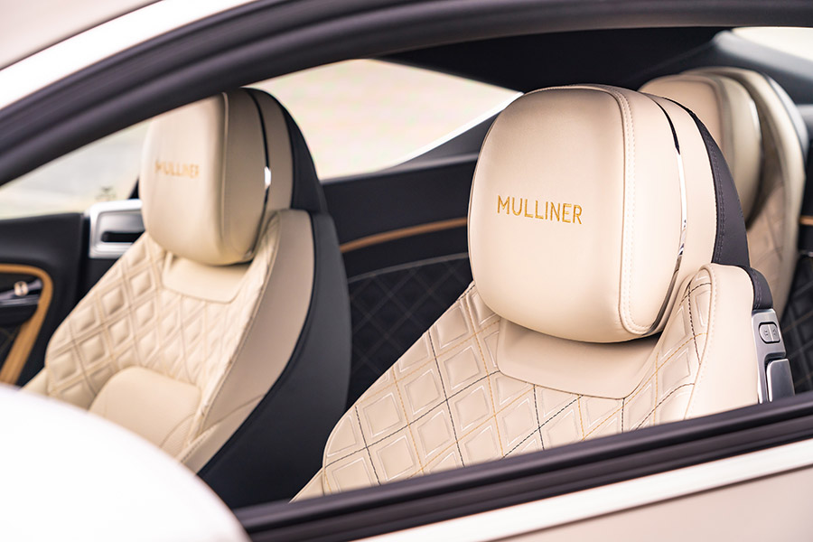 Bentley Continental GT Mulliner Coupe Salon Prive