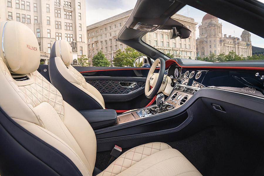 Bentley Continental GT Mulliner Salon Prive Debut