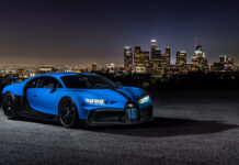 Bugatti Chiron Pur Sport USA Tour Los Angeles