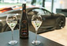 Champagne Carbon Bugatti EB02 Chiron 300+
