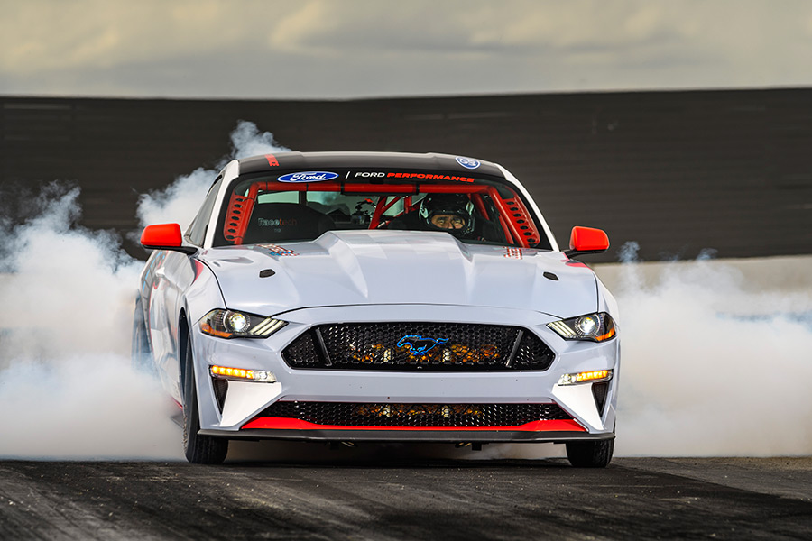 All-Electric Mustang Cobra Jet 1400 Prototype Blazes the Quarter Mile