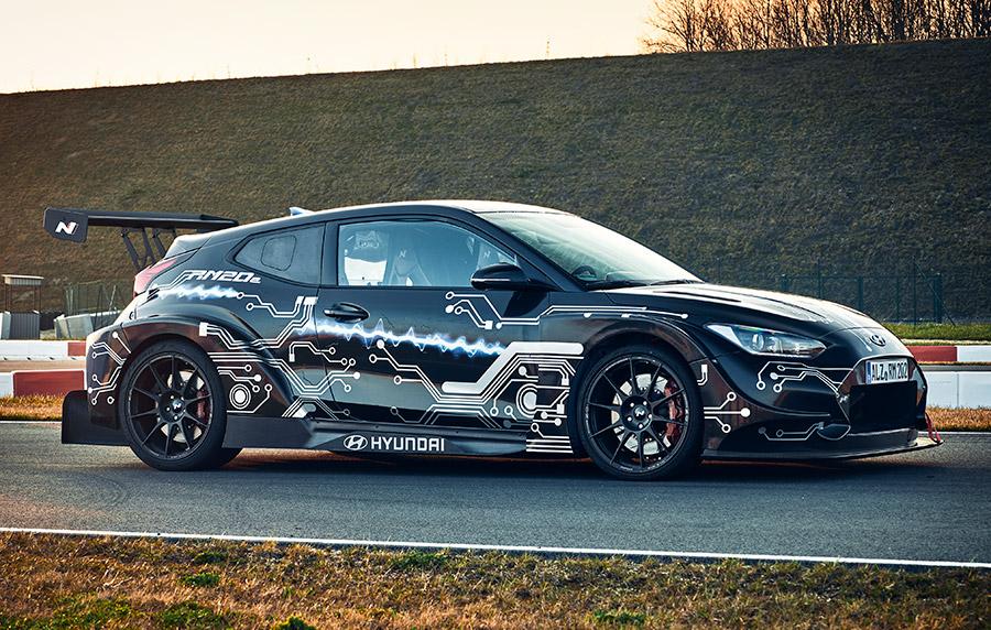 Hyundai RM20e Racing Midship Sports Car Prototype