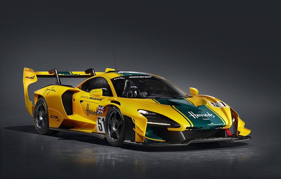 McLaren Senna GTR LM