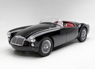 Petersen Automotive Museum 1961 MGA Outlaw Auction