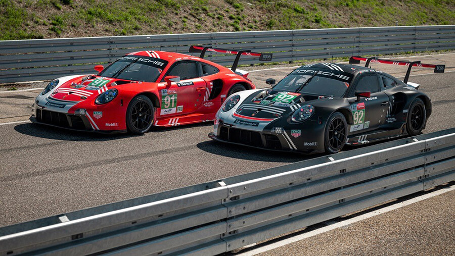 Porsche 911 RSR Le Mans Liveries