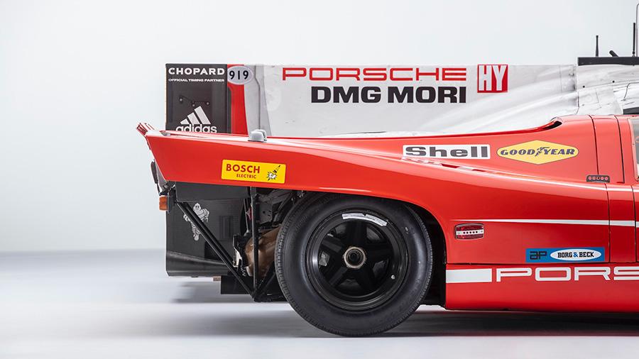 The Porsche 917KH Meets the Porsche 919 Hybrid