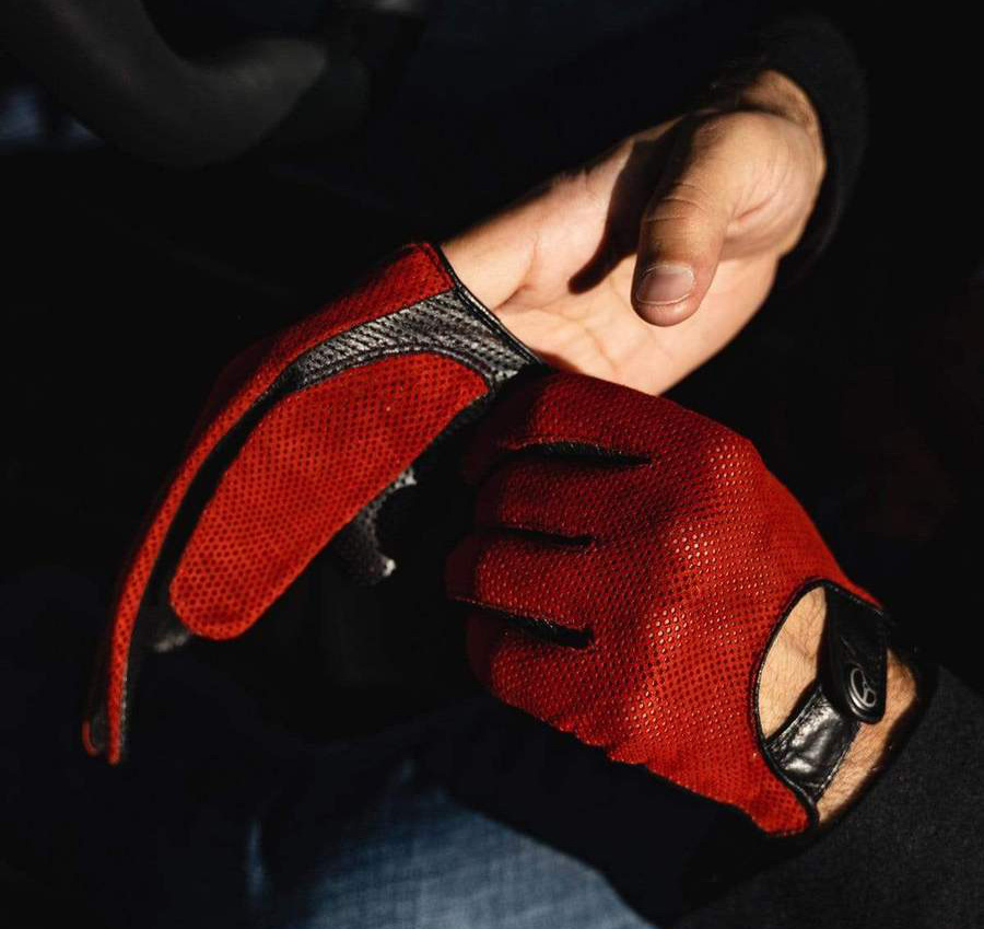 The Outlierman Bad One Driving Gloves Collection