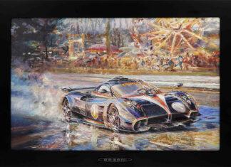 2021 Pagani Automobili Calendar