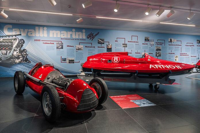 Alfa Romeo Boats Museum Exhibition Seahorses