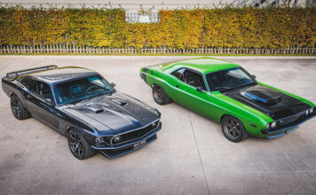 American Restomods Ford Mustang Dodge Challenger Auction