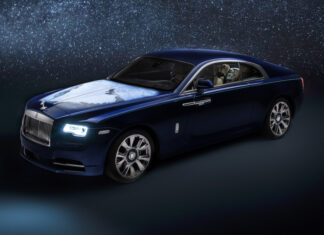 Bespoke Rolls-Royce Wraith Abu Dhabi From Space Airbrushed