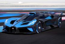 Bugatti Bolide Track-Focused Hyper Sports Car