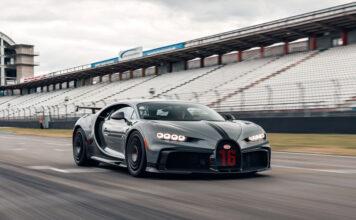 Bugatti Chiron Pur Sport Hockenheimring Test Drive