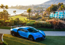 Bugatti Chiron Pur Sport Newport Beach Tour