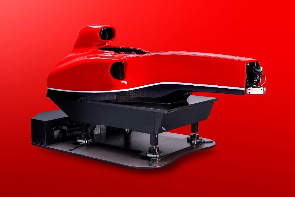 Cranfield Simulation brings F1 grade motion simulation