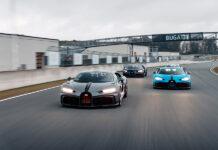 Customers Test Drive Bugatti Chiron Pur Sport