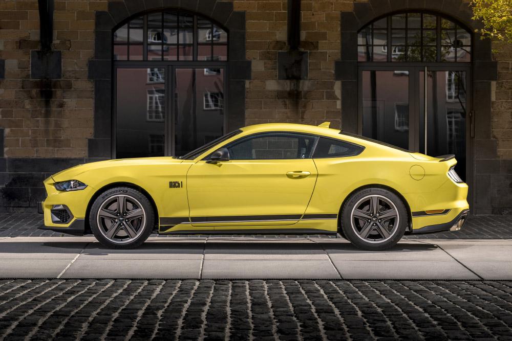 Ford Mustang Mach1 Goodwood Speedweek European Debut