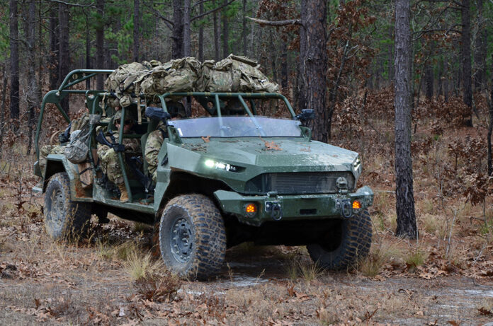 GM Defense Delivers First Infantry Squad Vehicle to U.S. Army
