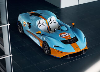 Gulf McLaren Elva Goodwood Debut