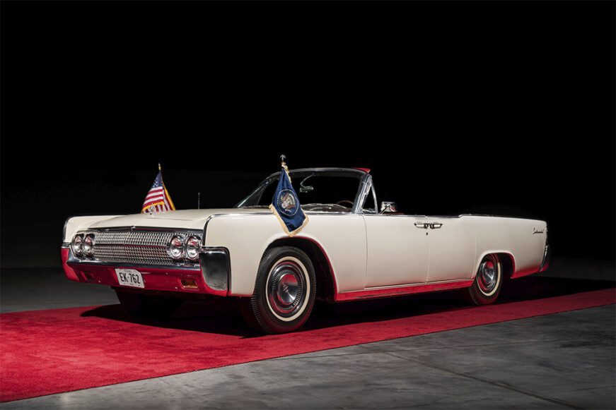 JFK Limo One Lincoln Continental Convertible Bonhams Auction