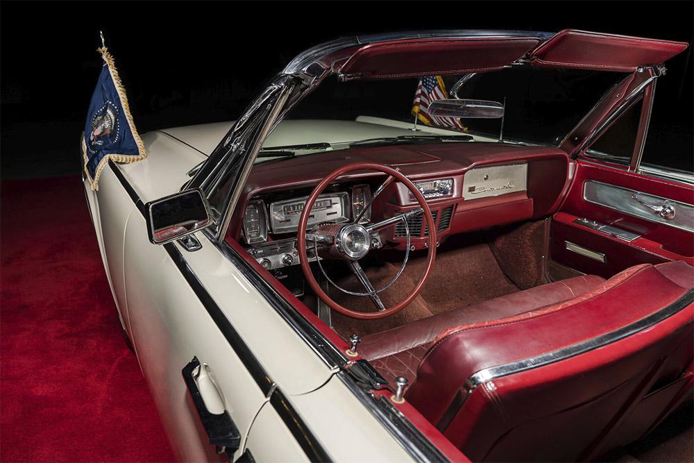 JFK Limo One Lincoln Continental Convertible Bonhams Auction