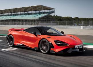 McLaren 765LT Pirelli P Zero Trofeo R Tires