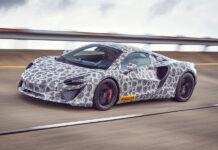 McLaren Hybrid Supercar Testing Complete