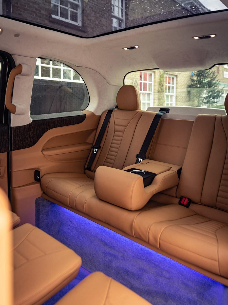 Sutton Bespoke luxurious London taxis