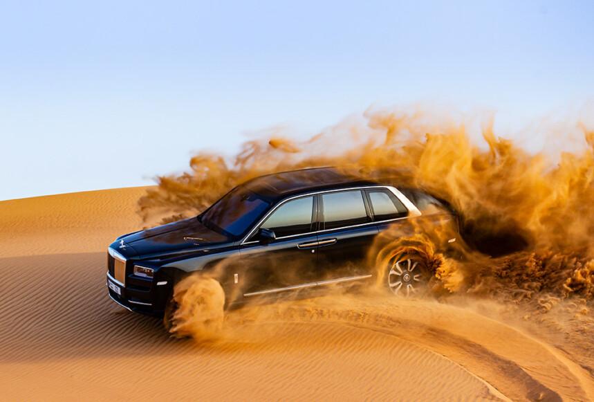 Taking a Rolls-Royce Cullinan Off-Road