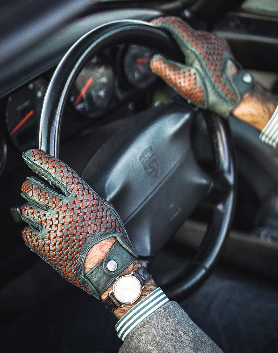 The Outlierman Bespoke Driving Gloves New Colors