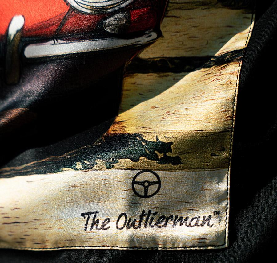 The Outlierman Jaguar E-Type and Porsche 356 T-Shirts