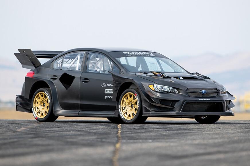 Subaru Reveals Travis Pastrana Gymkhana WRX STI