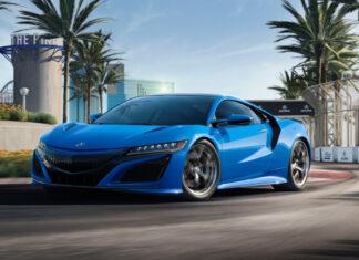 2021 Acura NSX Long Beach Blue Pearl