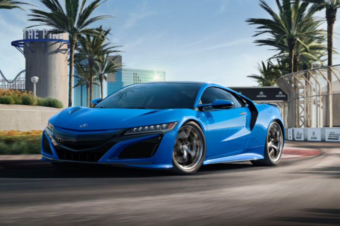 2021 acura nsx celebrates motorsports and heritage in long