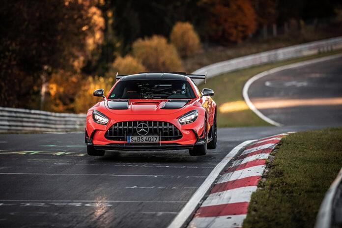 Mercedes-AMG GT Black Series Nürburgring-Nordschleife Production Car Lap Record