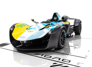 Bac Mono R Playstation Wipeout Livery