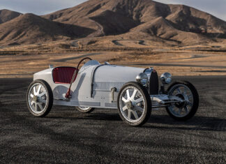 Bugatti Baby II Arrives in North America